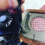 Чистка ноутбука от пыли и замена термопасты